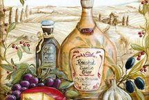 прованс оливки сыр