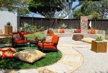 Easy backyard