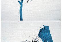 Aqua tache bleue