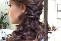 włosy wesele