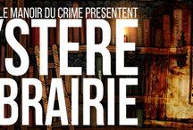 Soirée des 70 ans Sauramps - Mystère à la librairie / Retrouvez les photos prises lors de la soirée des 70 ans de Sauramps en partenariat avec le Manoir du crime.