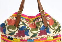 bags suzani fabric