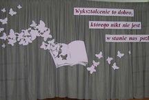 Szkoła dekoracje