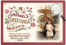 Whimsical Rustic Holiday Photo Cards!