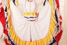 falda doble circular