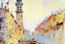 Corneliu Dragan / Watercolor