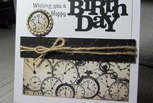 Masculine birthday cards