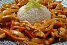 csípős-savanyú kínai