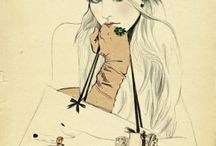 Я Fashion illustrations