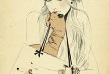 Я Fashion illustrations