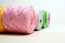 """FETTUCCINE YARN / Flat yarn made with a special spinning process. A cotton """"tape"""" suitable for making your special projects!  •Recommended needles: 10 to 15 mm •Composition: 100% cotton •Packaging: 200 gr balls •200 mt / 218 yd  Let's have fun knitting your """"yummy"""" projects!  http://www.bettaknit.com/en/shop/detail.asp?art=173&tipo=5&cat=3"""
