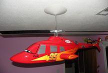 Disney / Childs/Cars collector ceiling fan  #Disney #Pixar #Ceilingfan #LightningMcQueen #Belle #Cars #ChildsRoom  / by GeeNeen Brown