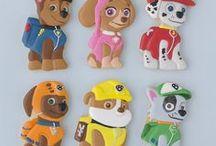 galletas de fondan de la patrulla canina