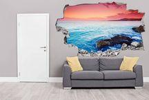 FOTOMURALES CON PROFUNDIDAD / Fotomurales Decorativos para tu Sala de estar, habitación o estudio. Conoce en más modelos en: www.tiendacolorvirtual.com o escríbenos al Whatsapp 3218015844 o Teléfono 444 38 69