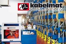 Kabelmat / Kabelmat, maquinaria para el almacenamiento, bobinado y manipulado de cables, cables de acero, tubos, mangueras y perfiles.
