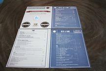 Restaurant menu design / Some restaurant menu design.