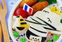 Bento boxes / Inspiration for making my kid`s lunchbox a bit more fun.