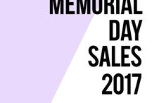Memorial Day Sales & Deals 2017 / Memorial Day 2017 is on Monday, May 29th. We'll update this page regularly for the top sale events below with savings on everything from clothing, baby items and outdoor furniture to auto parts, shoes and beauty products.