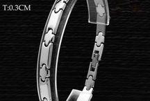 Unisex Edelstahl Armband 316 L (Chirurgenstahl) 40 G 17,90 Euro