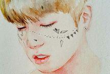 dibujos kpop