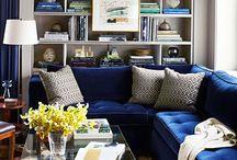 Blue/İndigo in HomeDecor