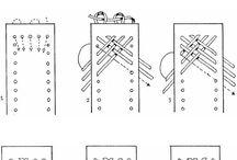 Cosido y Trenzado Artístico / Diseños artísticos de cosido, hilados etc…