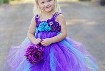 flower girl dresses / by Amber Whitehorn