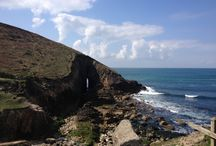 Beautiful Cornwall / So pleased to be bringing up my family in such a beautiful place.