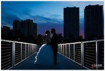 Nighttime Wedding Shots