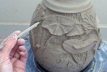 ceramic relief
