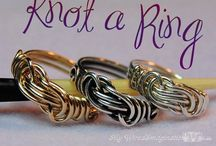 DIY - Wire jewelry - Rings