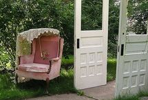 old doors / by Dianna Roberts