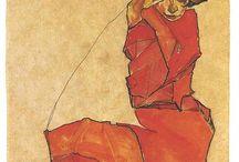Egon Schiele / #Schiele #art #painting