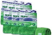 ECO FRIENDLY MAGIC CLEANING TOWELS - USE WATER NOT TOXIC CLEANERS