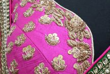 Princess cut blouse / Sari blouse