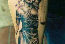 Tetoválások justicia
