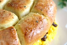 Sausage Egg & Cheese Rolls