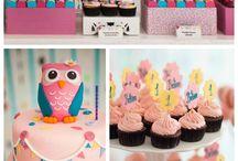 """""""Owl"""" Party Theme"""