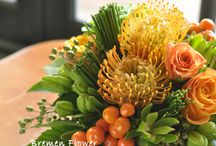 Table flower deco