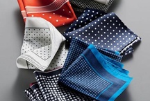 Pocket Squares / Examples of the many types of fabrics, patterns  and folds of pocket squares and how to incorporate them into everyday fashion.