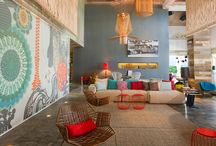 interiors and exteriors / by le zig le zag