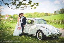 Spring Weddings at The Grasshopper Inn / A board with beautiful Pictures from our Spring Weddings