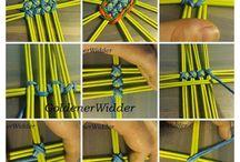 pletený ovál