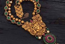 Indian temple jewellery / I love this fantastic artworks!
