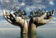 kahlil gibran / Quotes and books