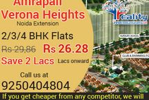 12% Discount on amrapali verona Heights Noida extension