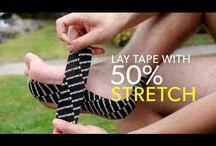 K tape application