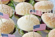 4th July BBQ / Ideas for our American Themed BBQ
