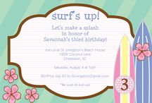 Surfer Girl Party Theme