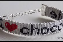 Bracelets I Love ... Fil A'délié / Bracelets brésiliens I Love ... faits de mes petites mains !  Pour me suivre : http://www.facebook.com/FilAdelie  Plus d'informations dans ma boutique en ligne : http://filadelie.alittlemarket.com